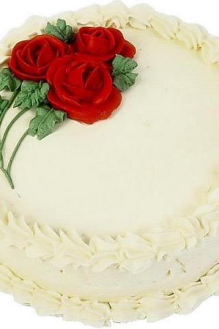Фоторамка торт с днем рождения
