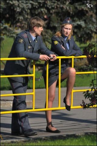 фото девушек полицейских в трусиках