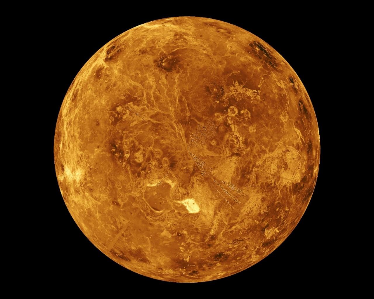 Обои для рабочего стола планеты венера