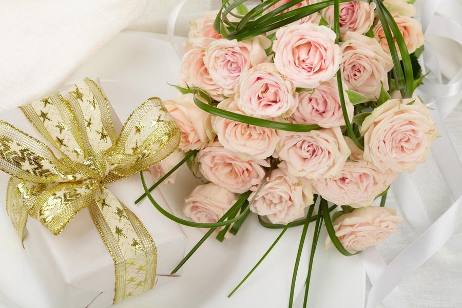 Букеты роз для подарка 632