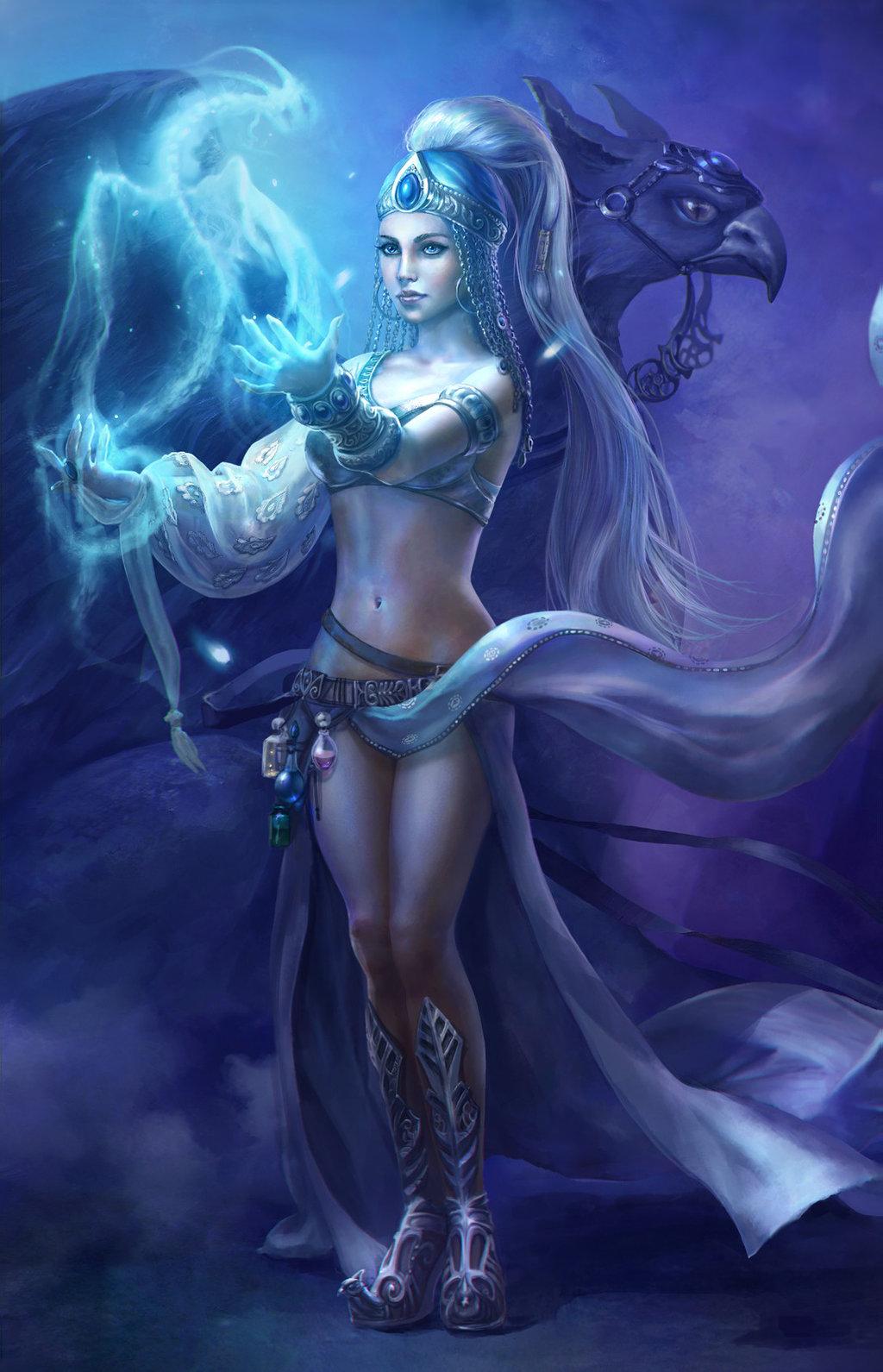 Fantasy enchantress