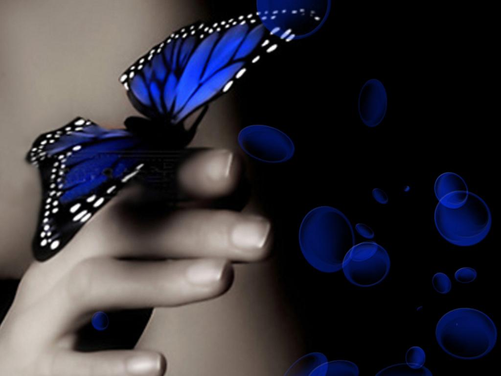 бабочки на руке фото