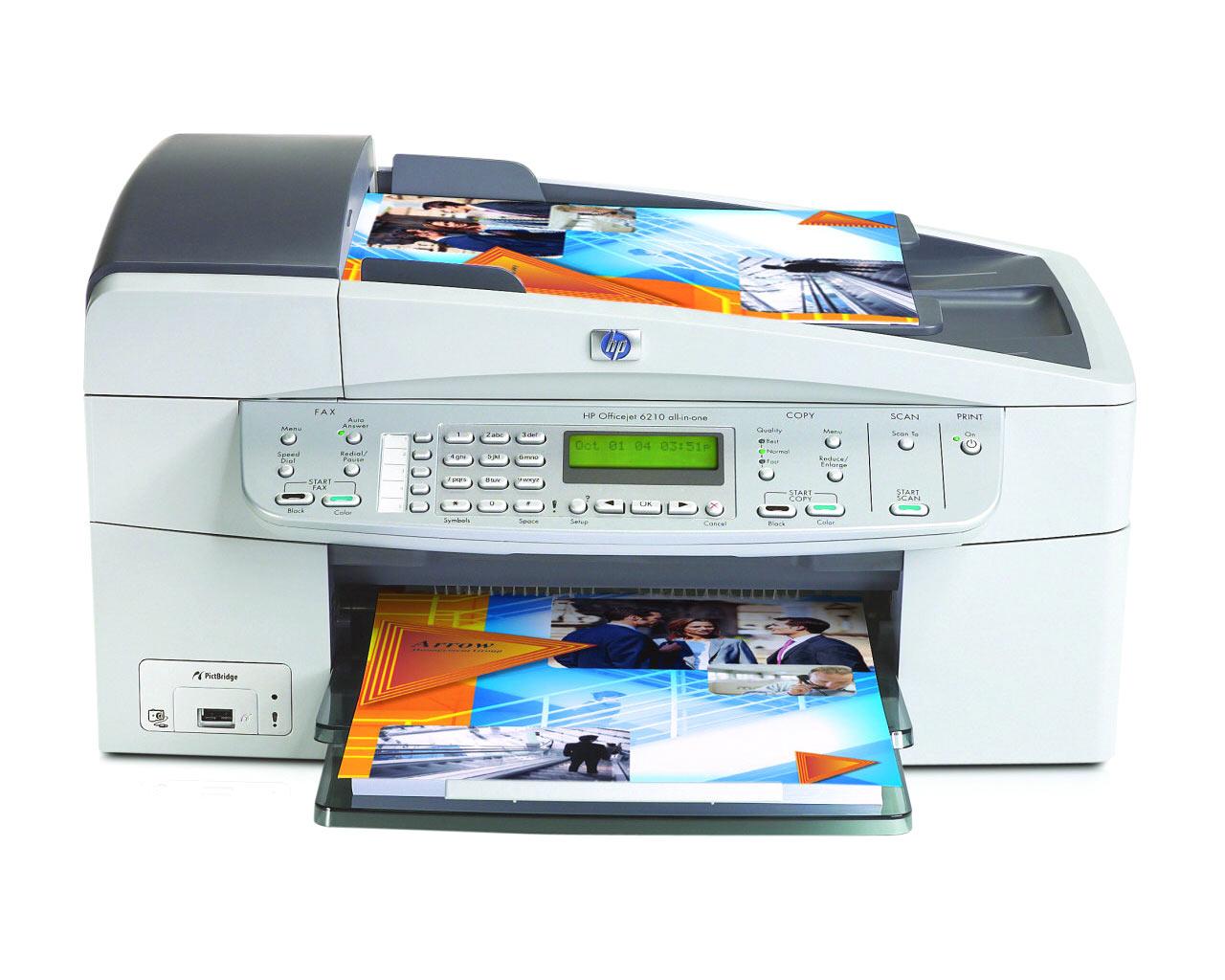 Как отсканировать фото на принтере hp