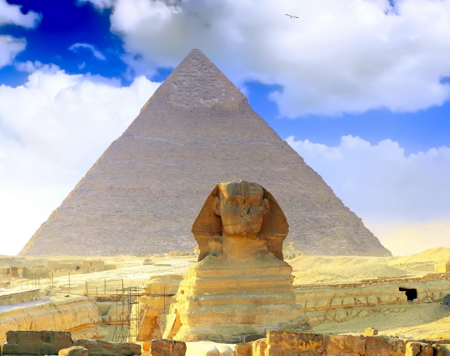 Широкоформатные обои для рабочего стола египет