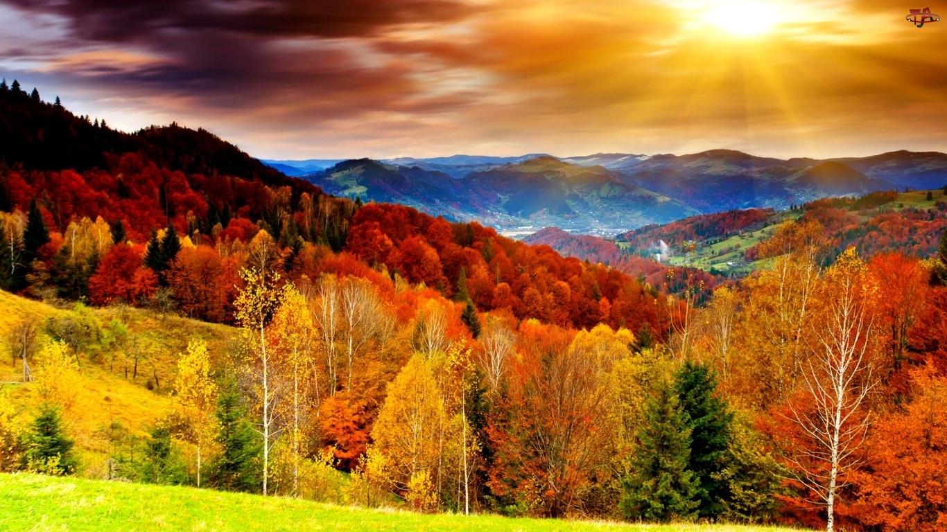 фото осень на заставку