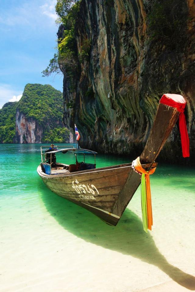 тайланд пхукет лодки