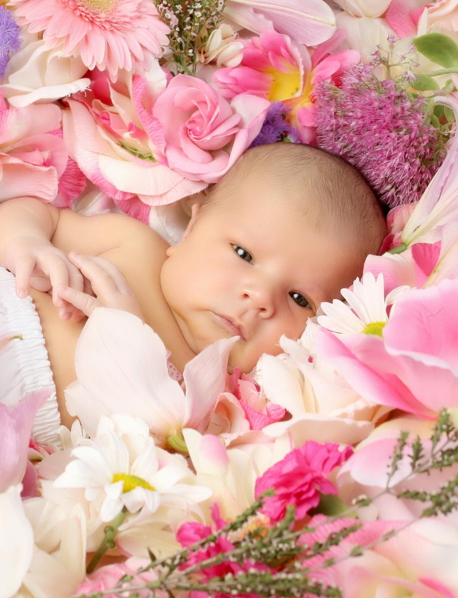 Дети с цветами: картинки и изображения дети с цветами