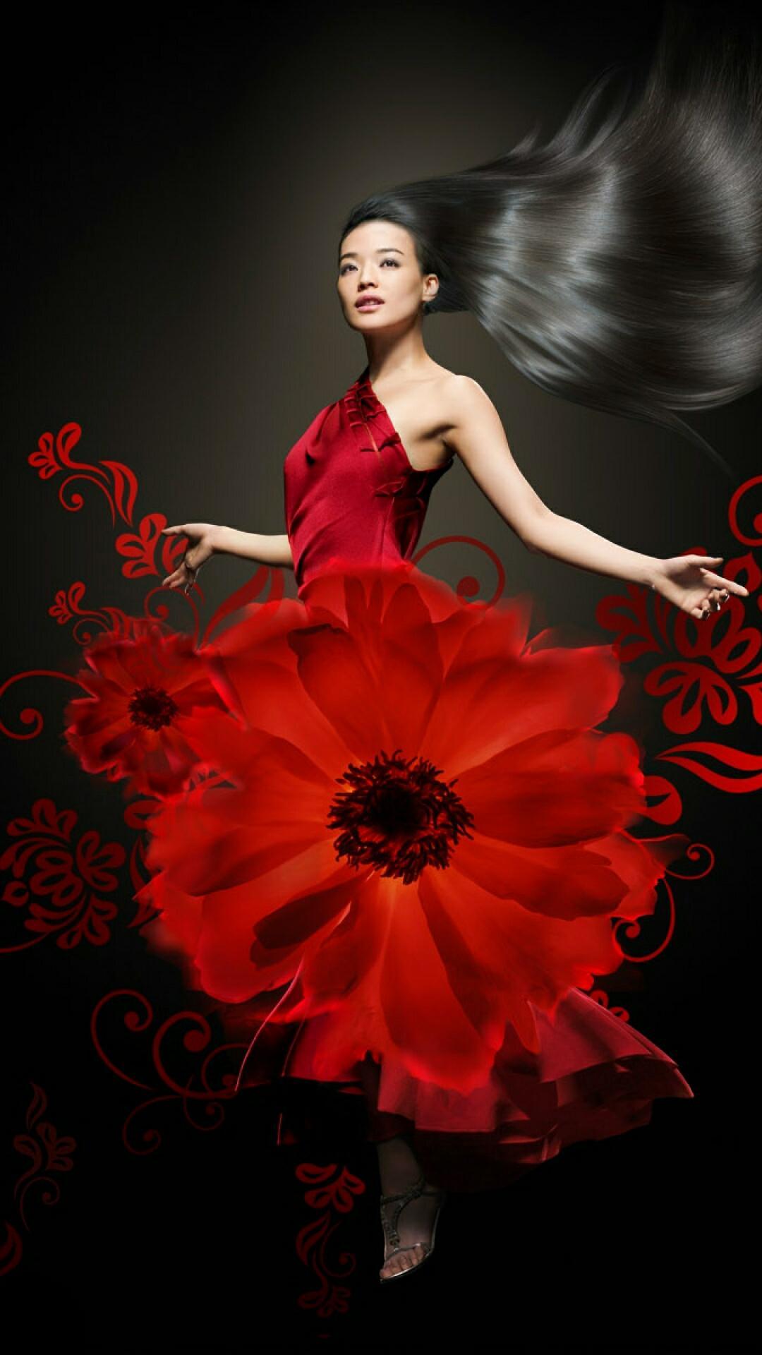 Фото девушка как цветок