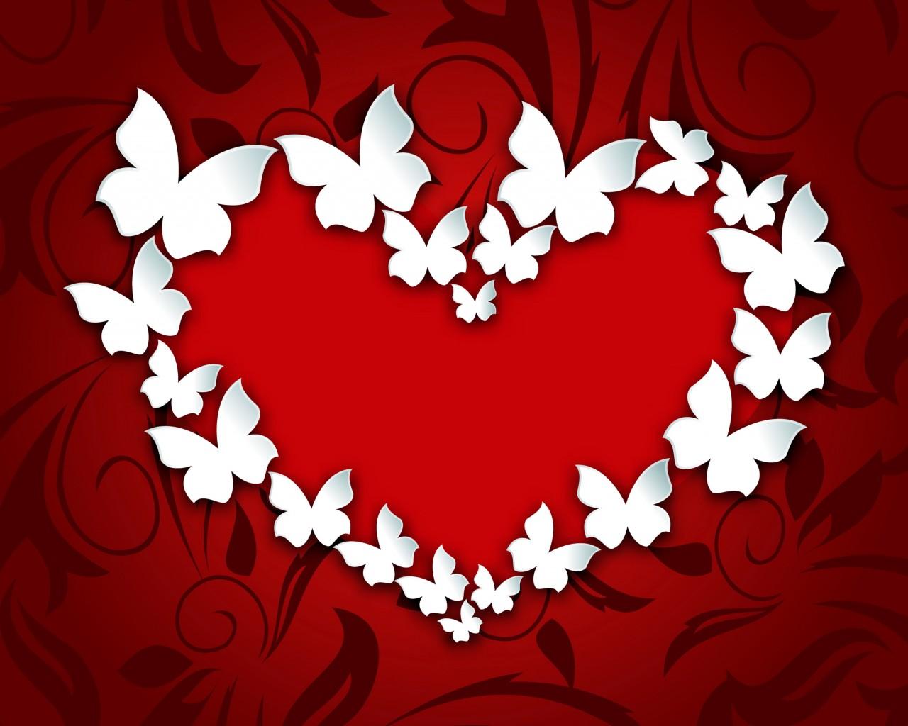 Как сделать красным сердечко