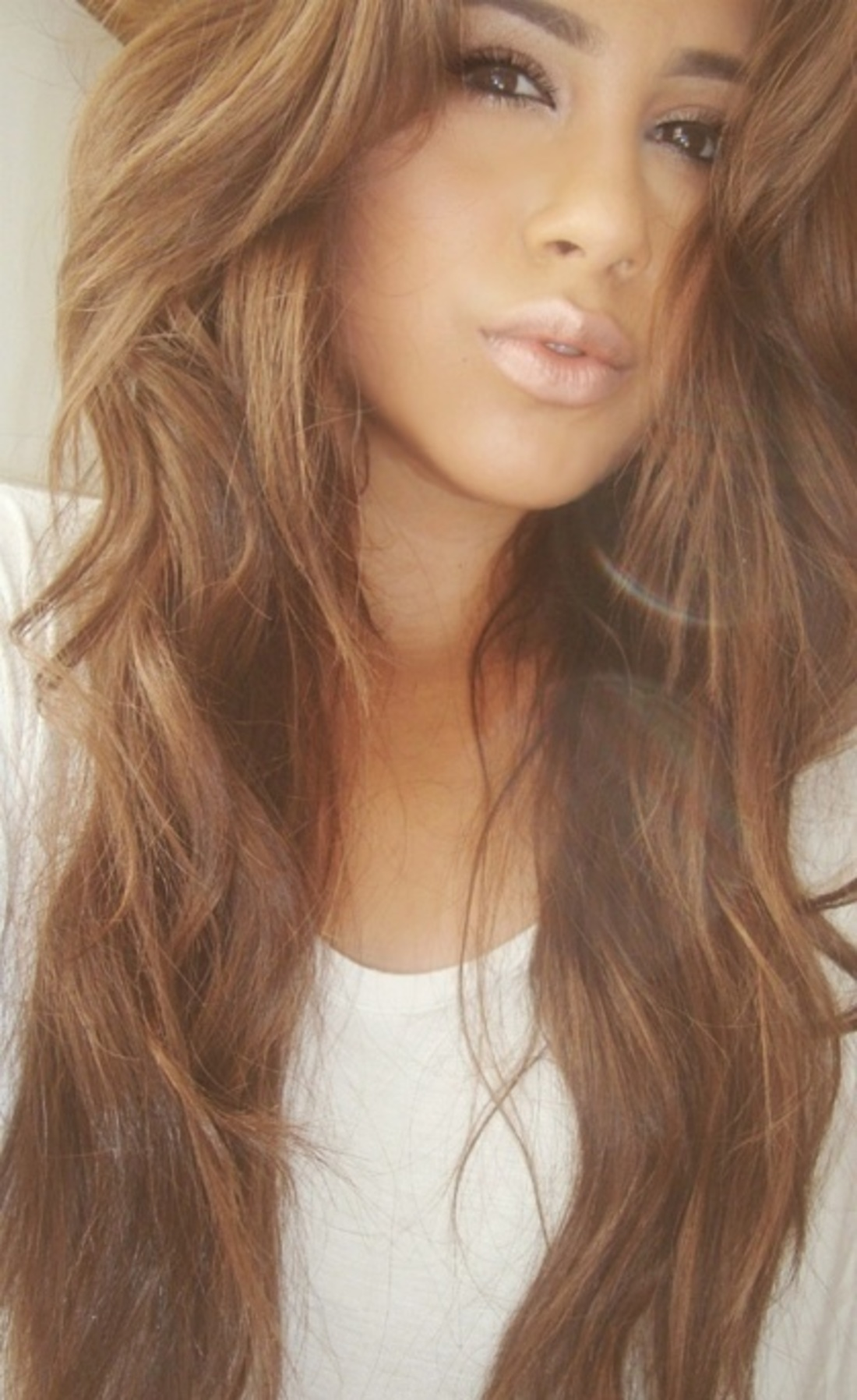 Цвет волос ольха фото девушек