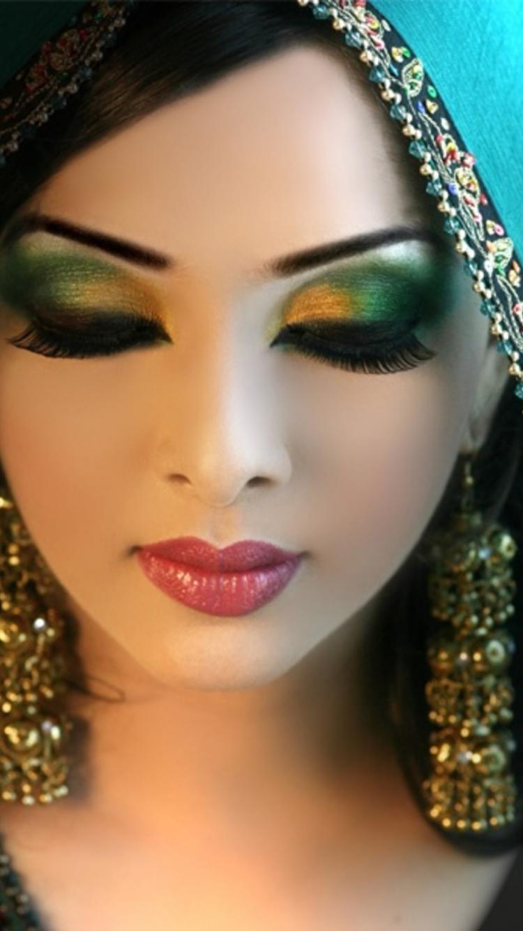 Восточный макияж для фото