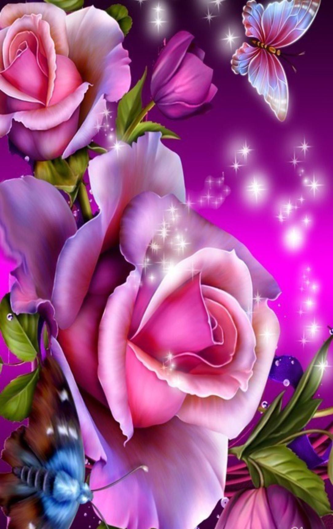 Фото красивых и блестящих цветов
