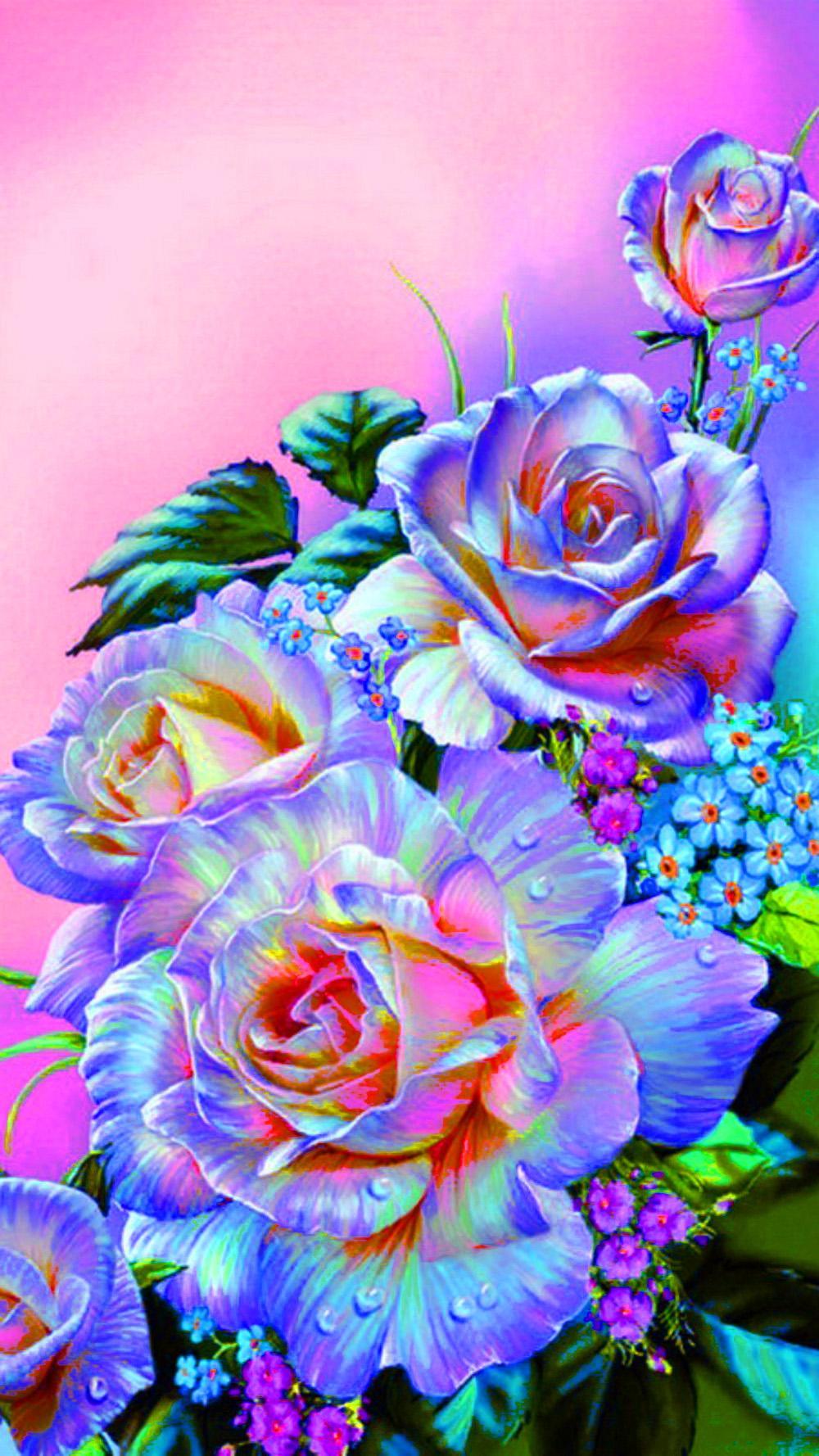 Красивые рисунки и фото цветов
