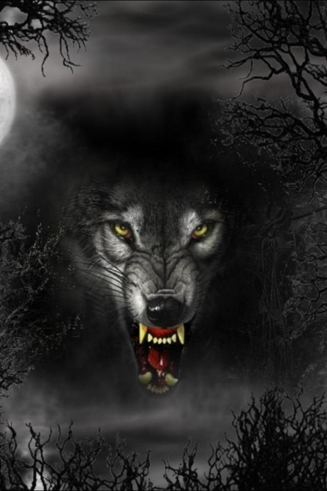 Black werewolf wallpaper