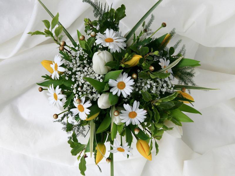 Картинка шикарный букет цветов
