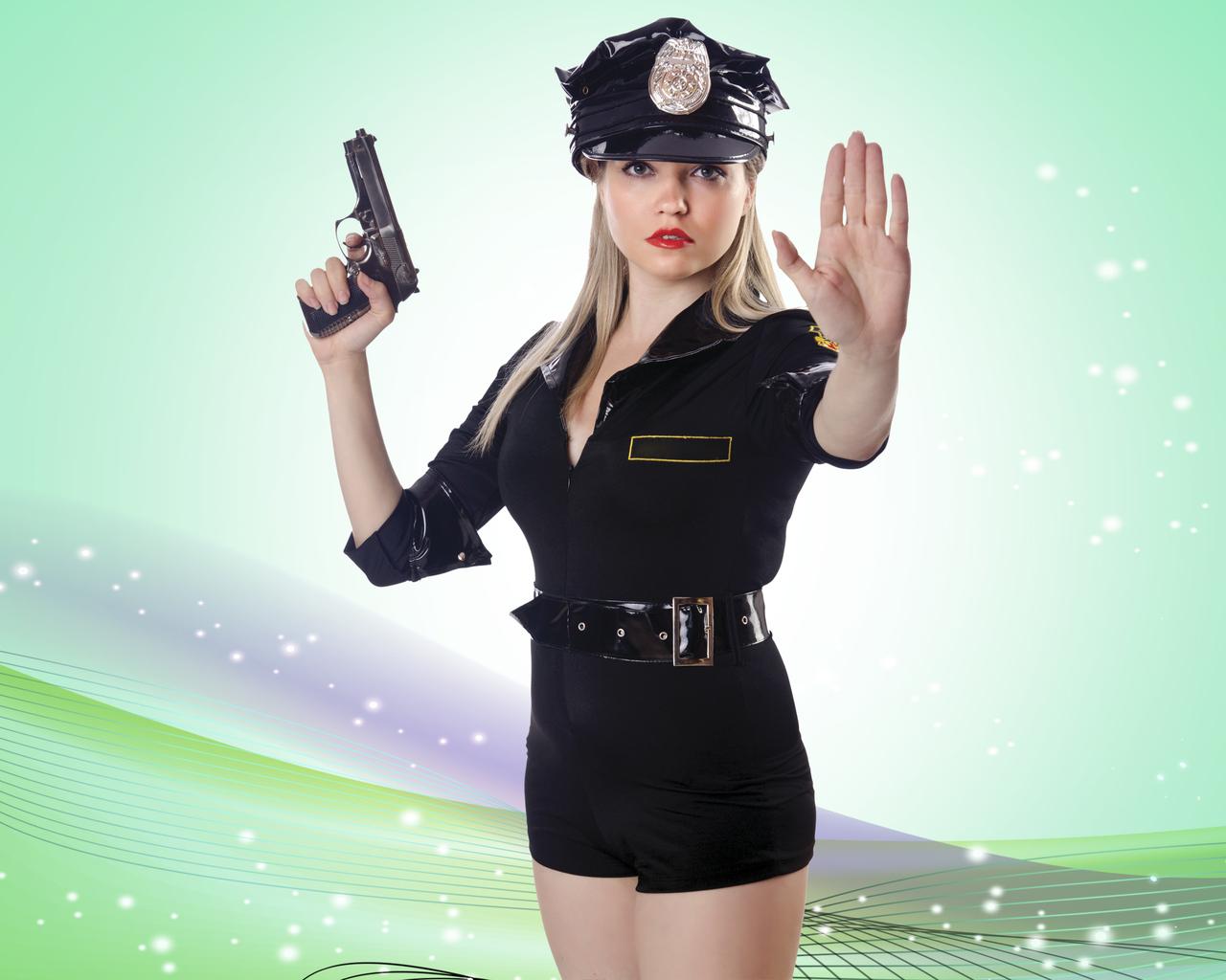 Девушки в полицейской форме фото фото 116-123