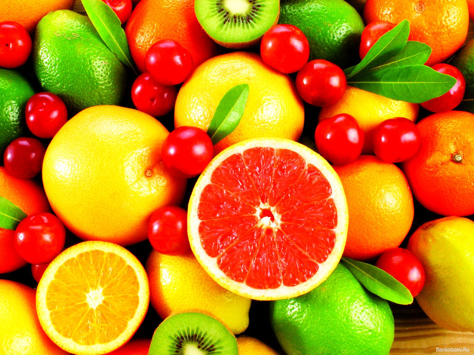 картинки фрукты на рабочий стол