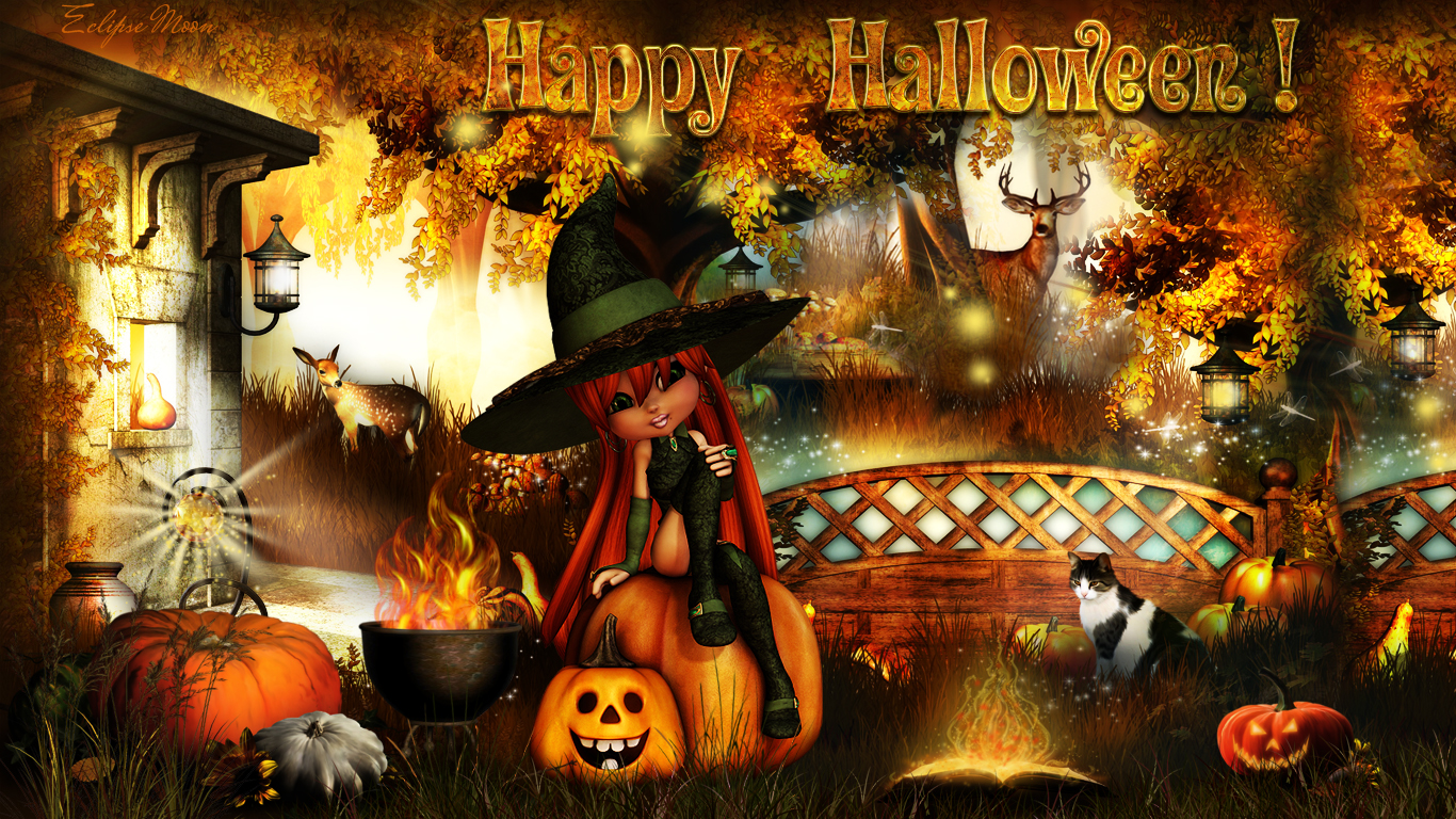 Adult halloween wallpaper naked photo
