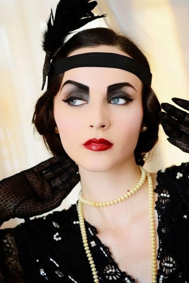 Девушка гангстер макияж