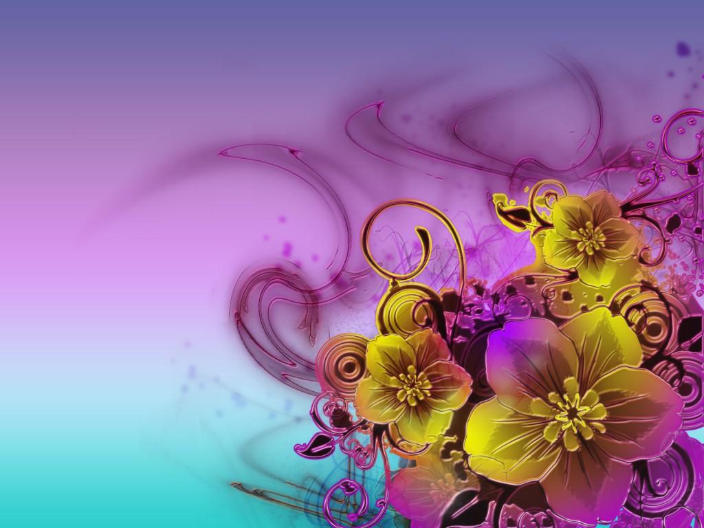 Обои на цветы