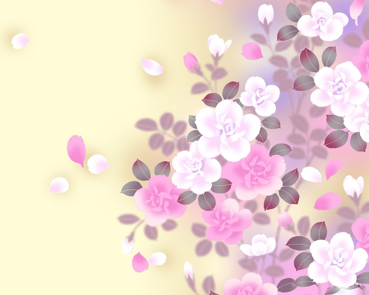 обои для рабочего стола лето цветы 1280х1024