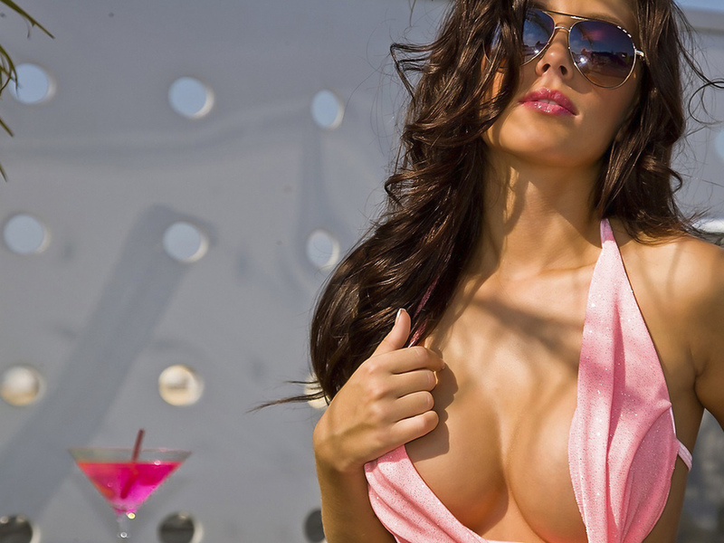 hot girl in pink № 448592