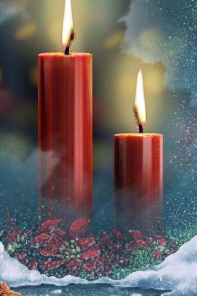 Картинки на телефон свечи